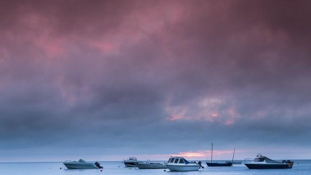 Boats at Newport, Wales