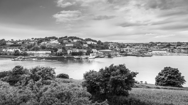Kinsale from James Fort
