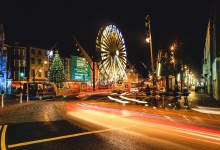 Glow Cork Ferris Wheel