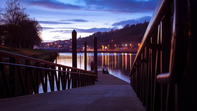 The River Lee at Sunset