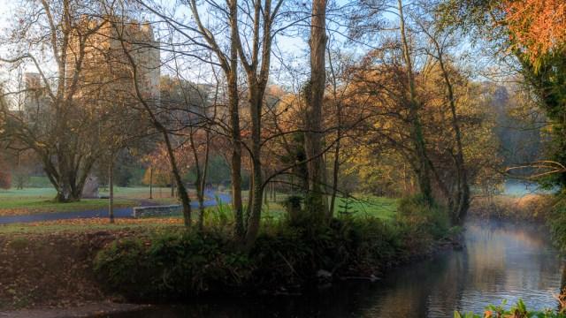 Winter comes to Blarney Castle