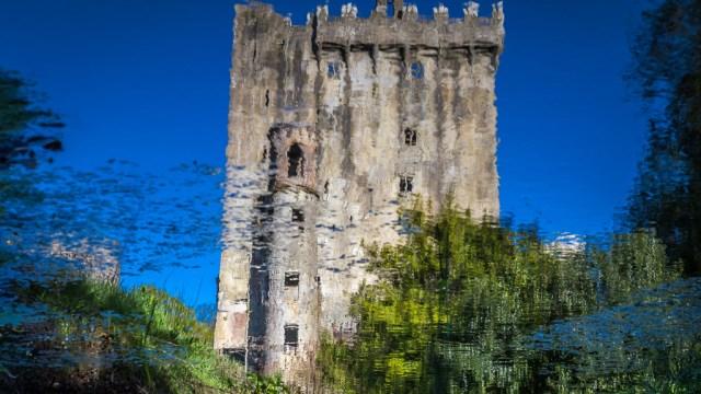 Blarney Castle in Reflection