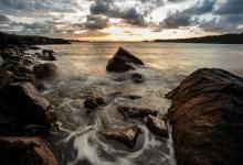 Water Swirls in the Rocks