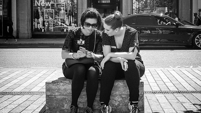 Engrossed in Conversation