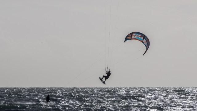 Kite Surfing at Garrettstown
