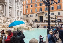 People of The Trevi Fountain
