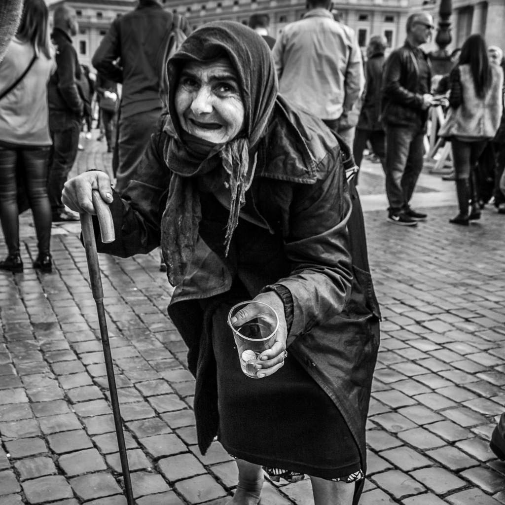 Vatican Beggar