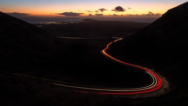 Light Trails Below Femés