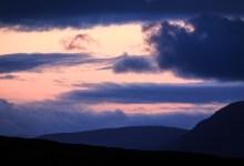 Sunset near Sheep's Head