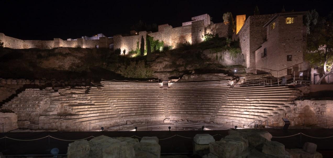 Malaga Roman theatre