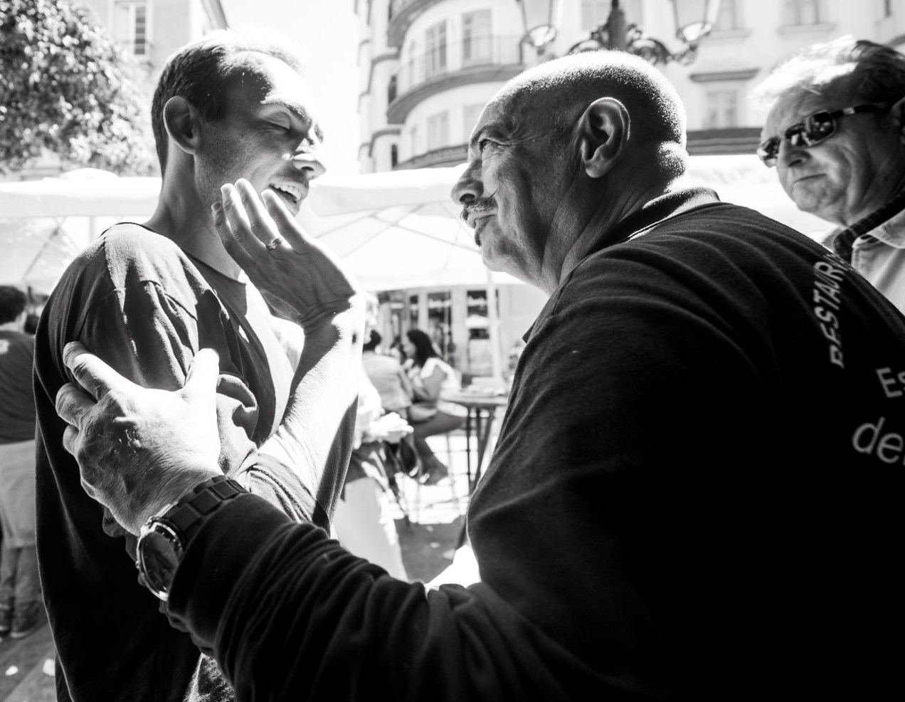 Conversation in Malaga