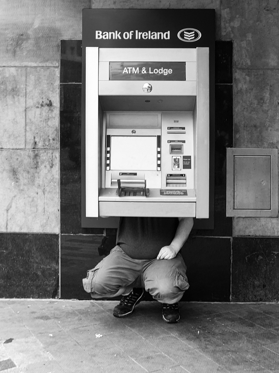 The ATM has Legs