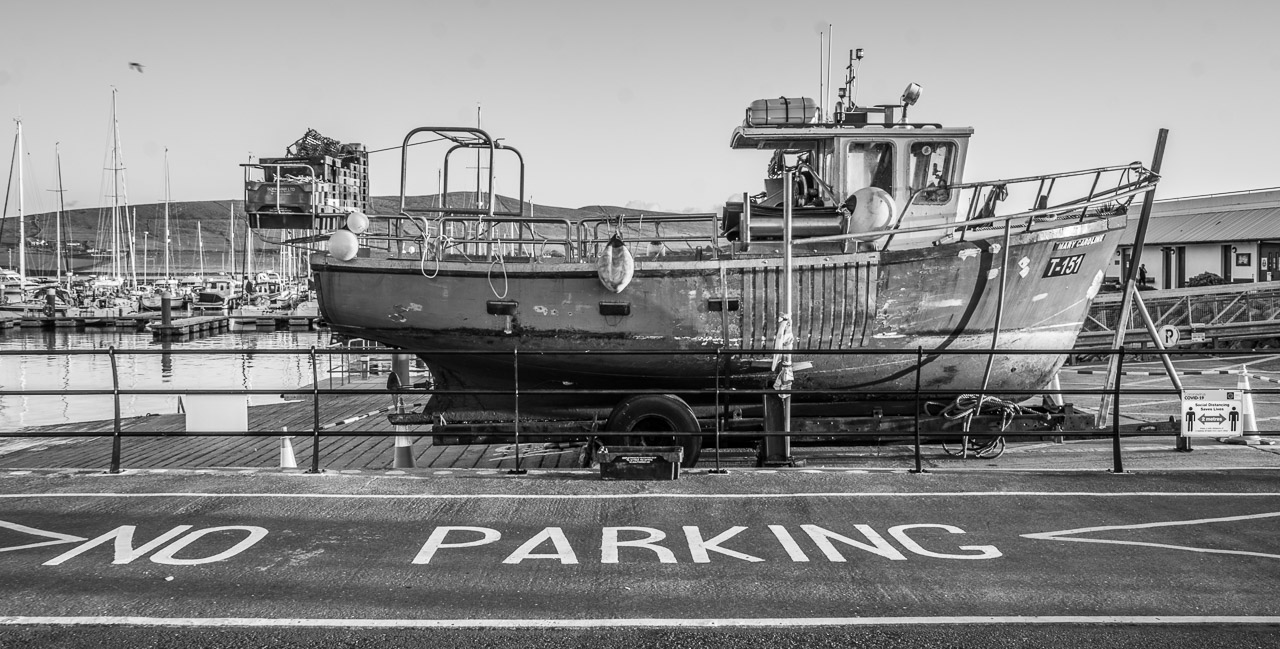 No Parking for Boats