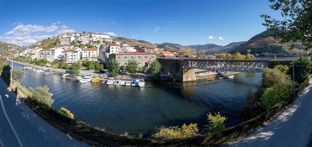 The view from Quinta da Foz