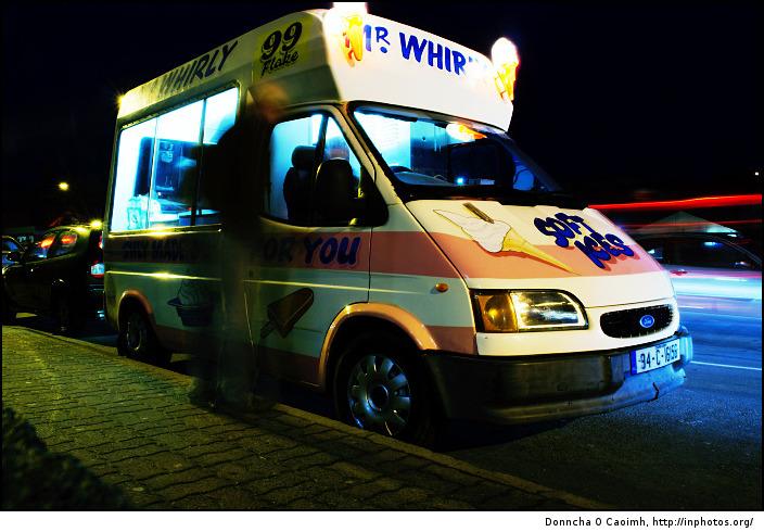 Mr Whirly the ice cream man