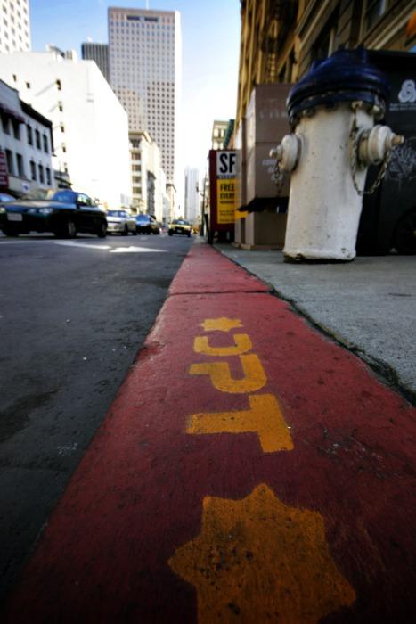 San Francisco DPT on the job