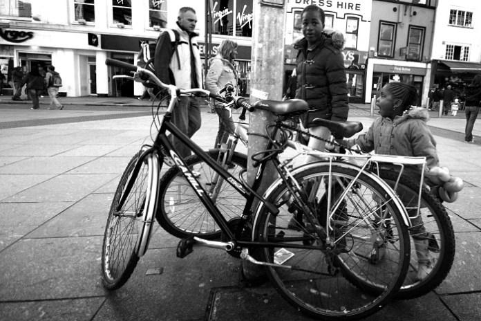 2 bikes in Daunt Square