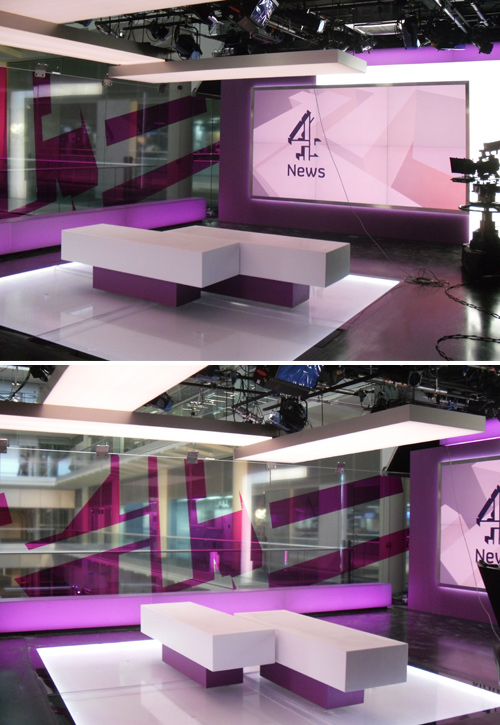 Perspex Fabrication and Acrylic Fabrication  TV Projects