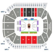 Windsor Express Seating Chart WFCU Centre