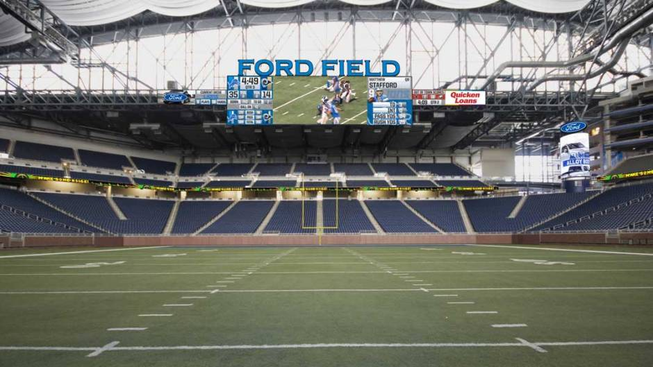 RENOVATION PLANS UNVEILED FOR THE NEW FORD FIELD