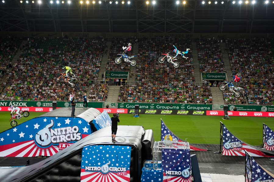 NITRO CIRCUS LIVE MAKES WINDSOR DEBUT, Nitro Circus Live Cancelled - Venue and Support Sited