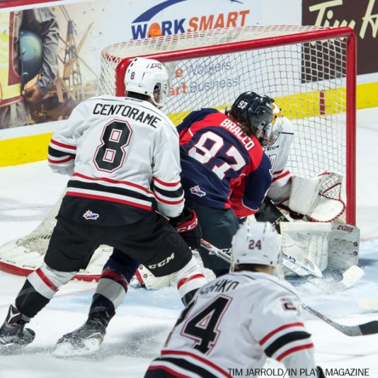 Spitfires vs Owen Sound 14