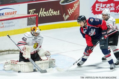 Spitfires vs Owen Sound 15