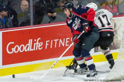 Spitfires vs Owen Sound 16