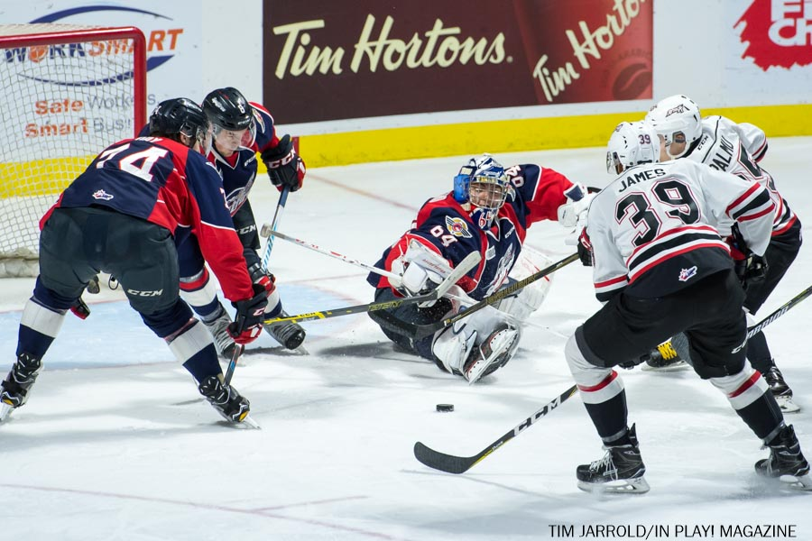 Spitfires vs Owen Sound 22