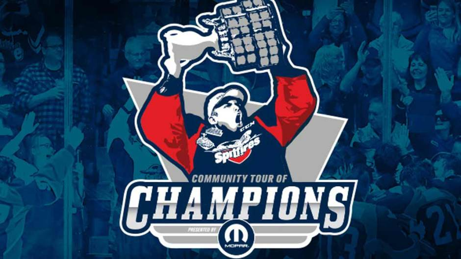 Memorial Cup Community Tour of Champions