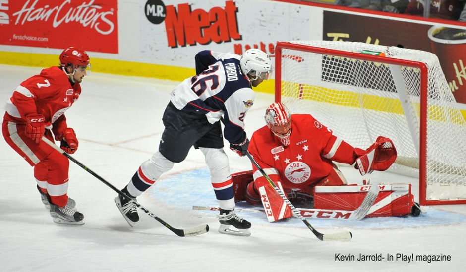 Spitfires vs Soo Greyhounds Oct 5 Game Photos