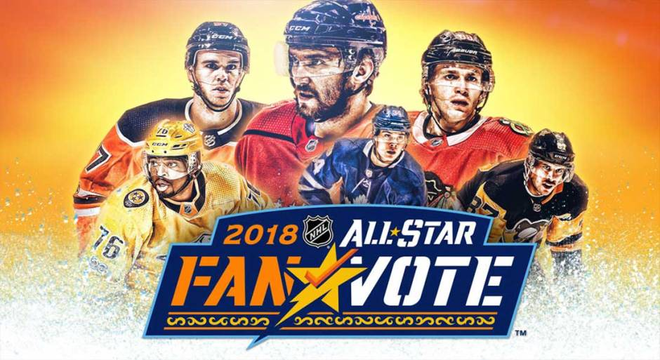 2018 NHL All Star Fan Voting