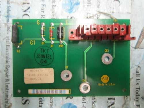 small resolution of allen bradley 74101 371 52 ac drive board