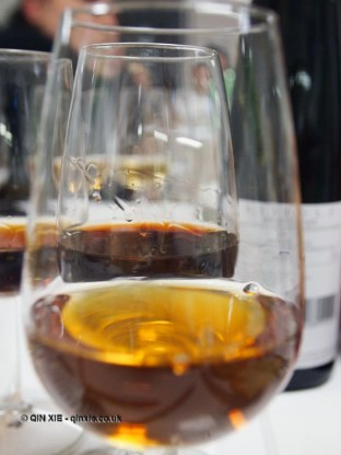 Through wine glass, dessert and wine matching at Leiths School of Food and Wine