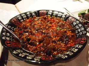 Beef tendons at Empress of Sichuan