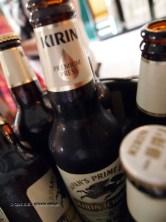 Bucket of beer at Kirin Ichiban Yatai
