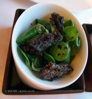 Duck tongues at The Elephant Restaurant, Torquay