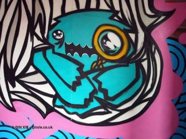 Grafitti at Kirin Ichiban Yatai