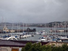 View from window at The Elephant Restaurant, Torquay