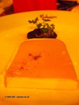 Chicken liver parfait on Christmas Celebration Menu at Malmaison, London