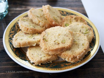 Cardamom biscuits at Fish in a Day, Food Safari