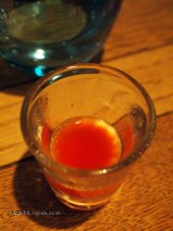 Tomato juice at The Refinery Bar
