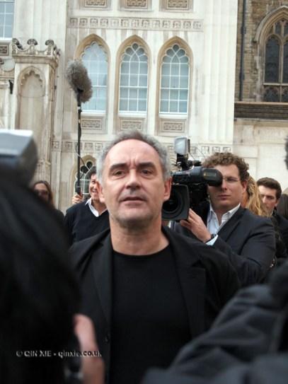 Ferran Adria at the World's 50 Best Restaurants 2012