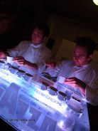 Ice bar Massimo Bottura Lavazza antipasto at the World's 50 Best Restaurants 2012