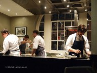 In the kitchen, Mauro Colagreco and Nuno Mendes at Viajante