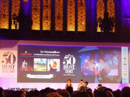 One to watch - Le Grenouillere at the World's 50 Best Restaurants 2012