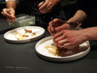 Plating up, Mauro Colagreco and Nuno Mendes at Viajante