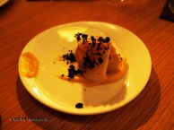 Potatoes with yeast and Iberico pancetta, Mauro Colagreco and Nuno Mendes at Viajante