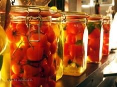Preserved vegetables, Pret a Diner: Italians do it better launch, Mayfair