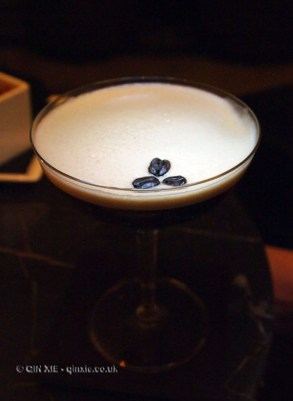 Espresso Martini, Galvin at Windows bar, Hilton Park Lane